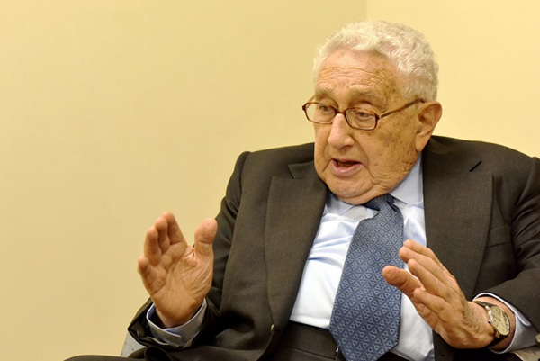 U.S. and China are obliged to work together: Dr. Kissinger