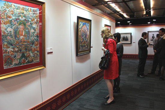 Color of West China - Thangka and Painting Exhibition Held in Sydne