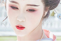 Art photos of Chinese beauty in Han Chinese clothing