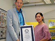 Chinese couple claim title for Guinness world's tallest married couple