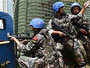 Chinese peacekeeping forces in South Sudan encounter armed conflicts