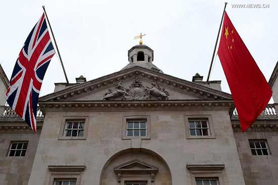 "Sino-UK ties enjoy ""golden era"""