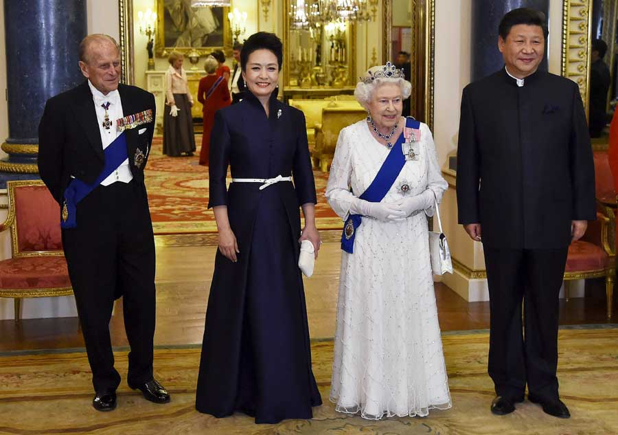 In photos: Memorable moments of President Xi's UK visit