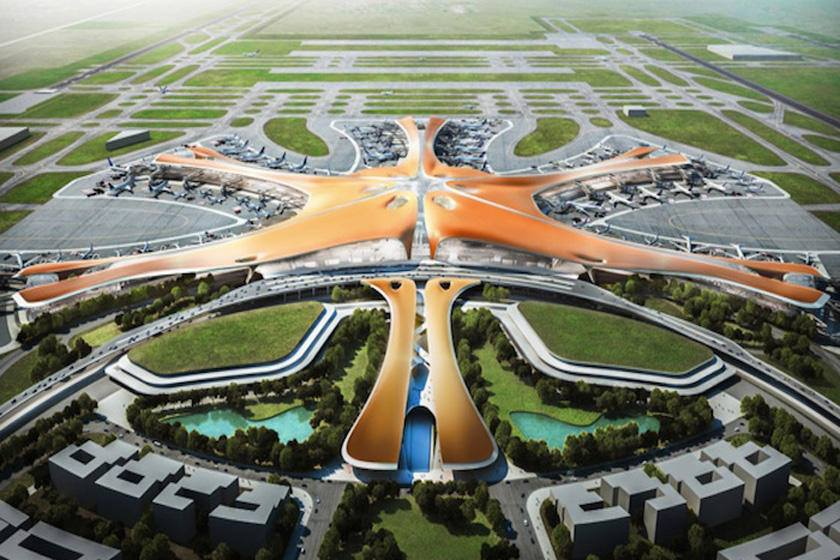 phoenix shaped new beijing airport to be operational in 2019 people 39 s daily online. Black Bedroom Furniture Sets. Home Design Ideas