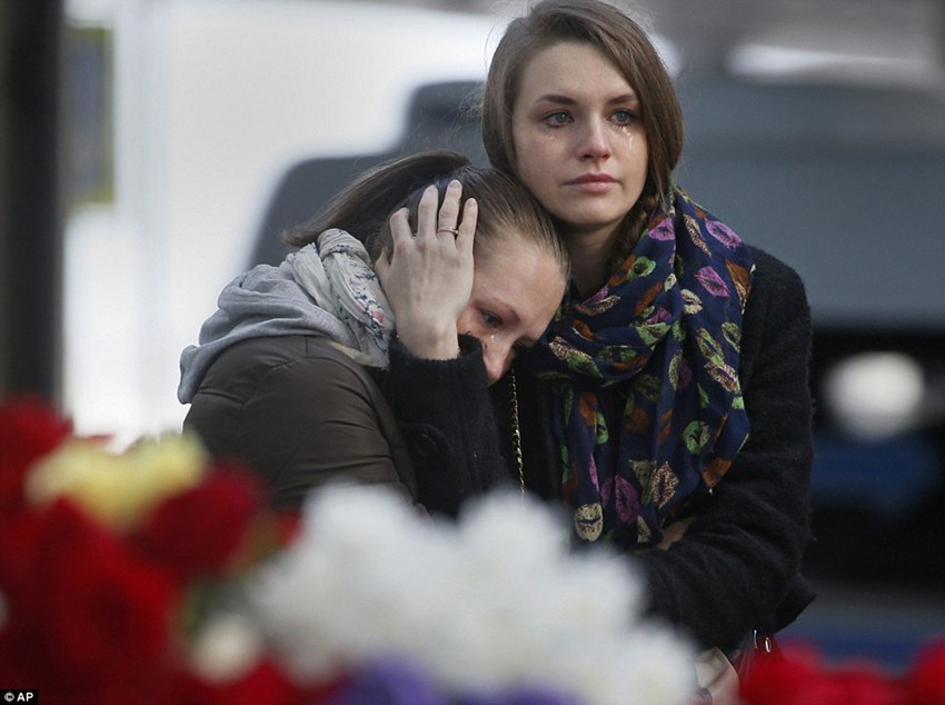 Russian plane crash victims sucked out of seats as 'external impact' blew jet apart