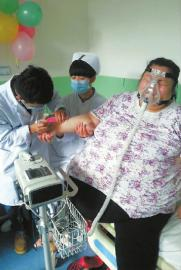 The heaviest woman in China