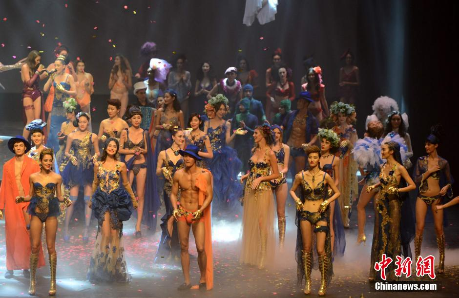 Amazing lingerie show at int'l fashion week in Xiamen