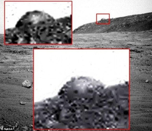 Alien hunters say structure was built by an ancient civilisation on Mars