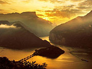 Spectacular aerial photos of the Three Gorges