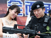 SWAT members hold romantic wedding in E China