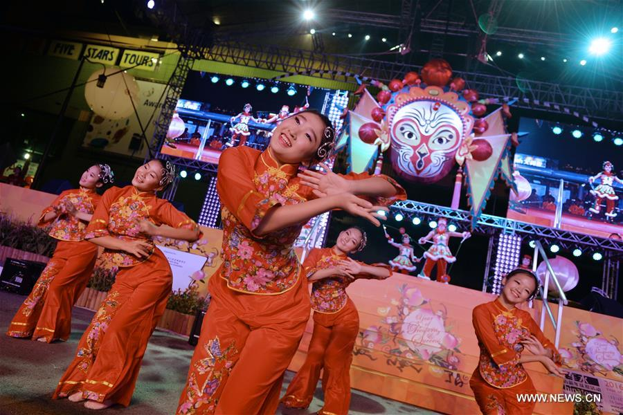 Lunar New Year celebrated in Singapore's Chinatown
