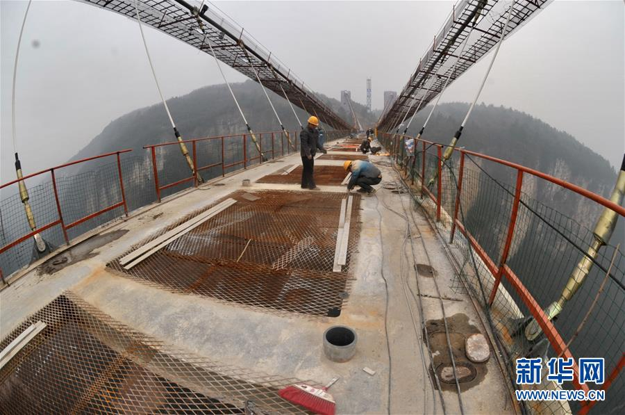 glass bridge across the zhangjiajie grand canyon to open to public in first half of 2016 - Zhangjiajie Glass Bridge
