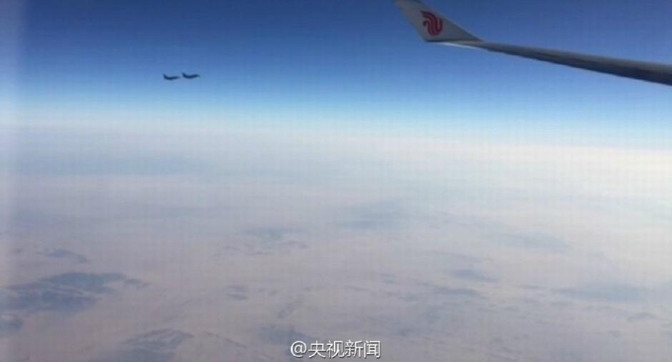 Foreign fighters in escort mission to special planes of Chinese leaders
