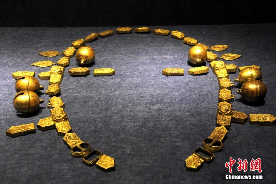 Cultural relics dating back to Liao Dynasty on display in E China