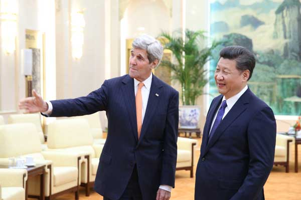 China, United States advance cooperation on major issues