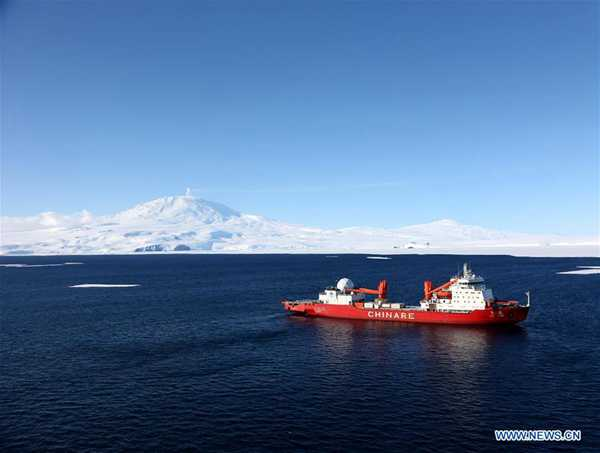 China to further explore Antarctic, deep sea this year