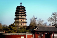 Ancient pagodas across China