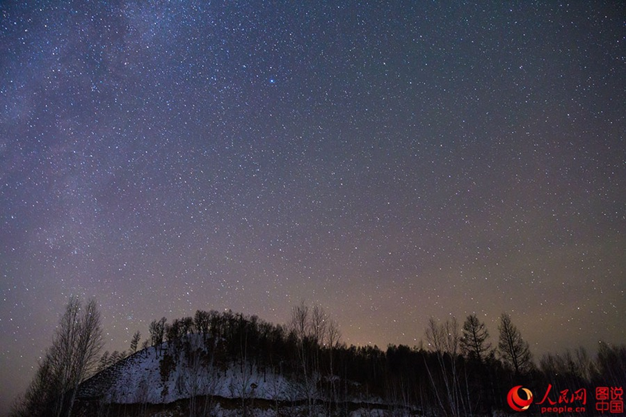 Have you ever seen such beautiful starlit skies in China?