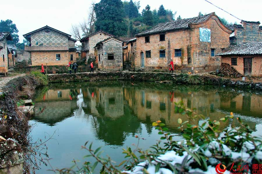 Scenery of Guzhu, thousand-year-old ancient village in E China