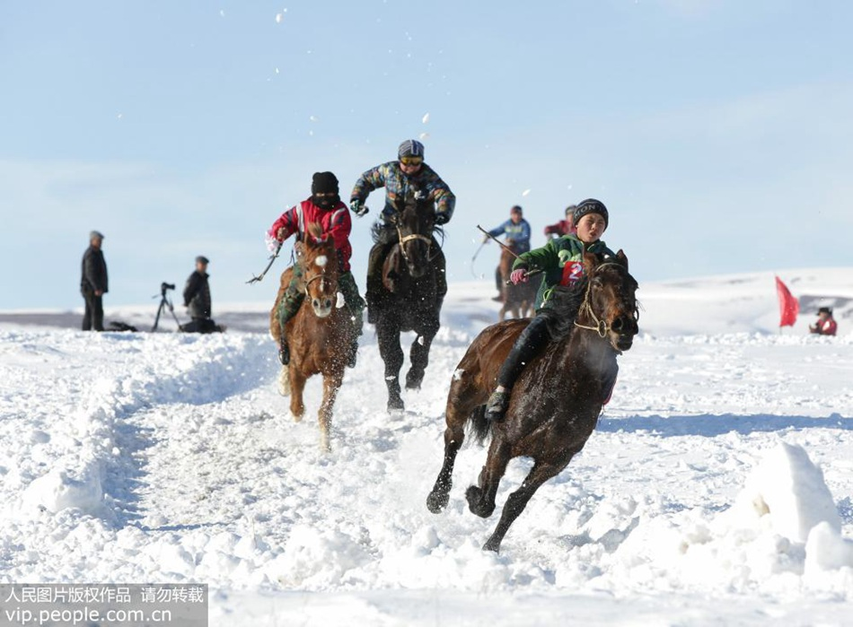 A glimpse of traditional Kazakh activities