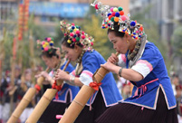 600 people attend Lusheng playing contest in S China