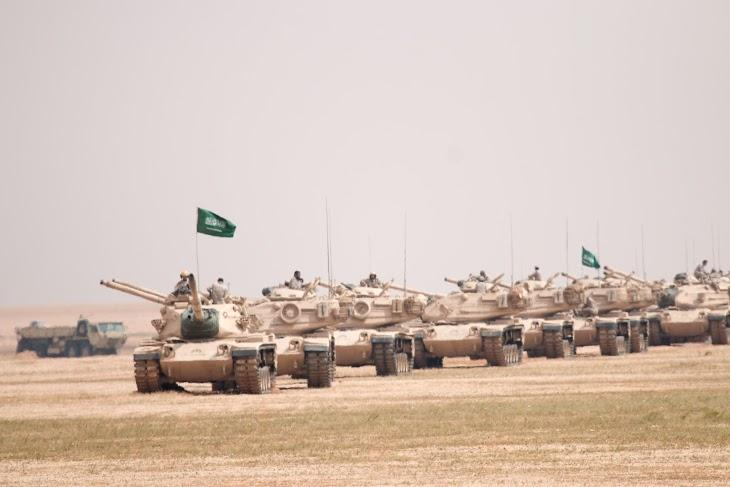 One of world's largest military drills launched in Saudi Arabia