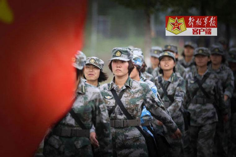Versatile female soldiers in military camp (20) - People's ...