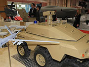 UAVs at Unmanned Systems Exhibition & Conference in UAE