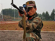 Chongqing sniper's new record: 13 holes on a rice grain