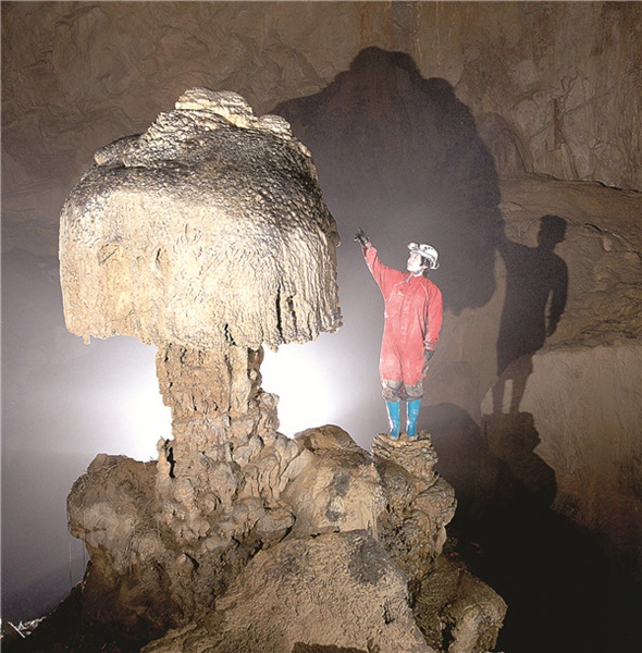 Caves yield a treasure-trove of discoveries