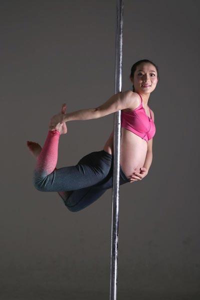 Dancing Pregnant Woman 60