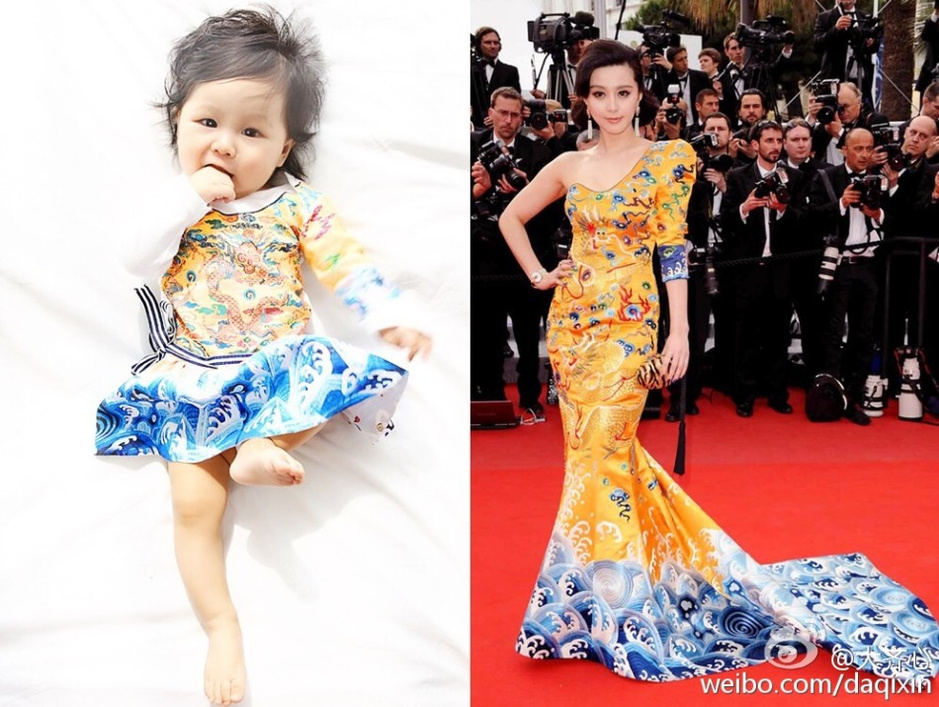 Young girl dressed up as Fan Bingbing goes viral online