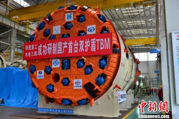 China-made tunnel boring machine to be exported to India