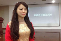 China's first interactive robot looks like a beauty