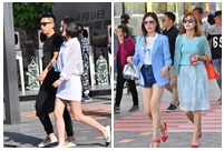 Beijing Style: ready for bare legs