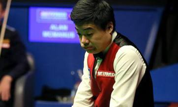 Ding becomes first Asian player to reach snooker worlds fina