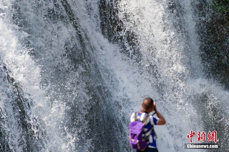 Magnificent Tianhetan waterfall