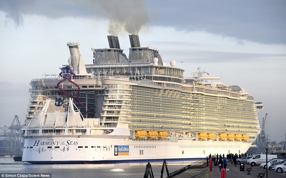 Worlds Biggest Cruise Ship Harmony Of The Seas To Start Maiden - Harmony cruise