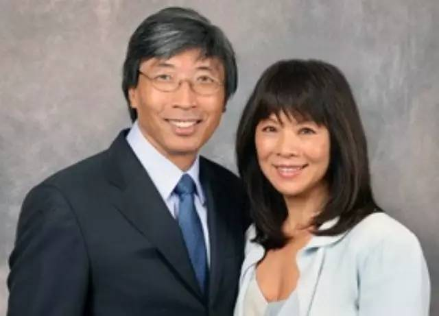 Patrick Soon-Shiong and his wife, Michele B. Chan (File Photo)