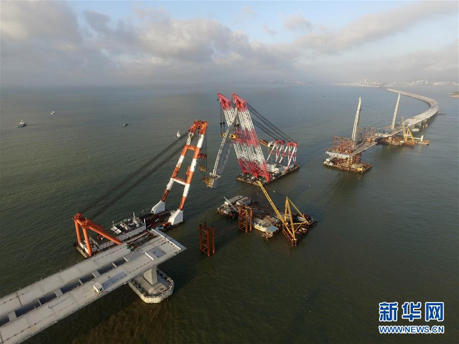 HK-Zhuhai-Macao Bridge about to open to traffic