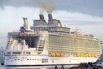 World's biggest cruise ship Harmony of the Seas to start maiden voyage