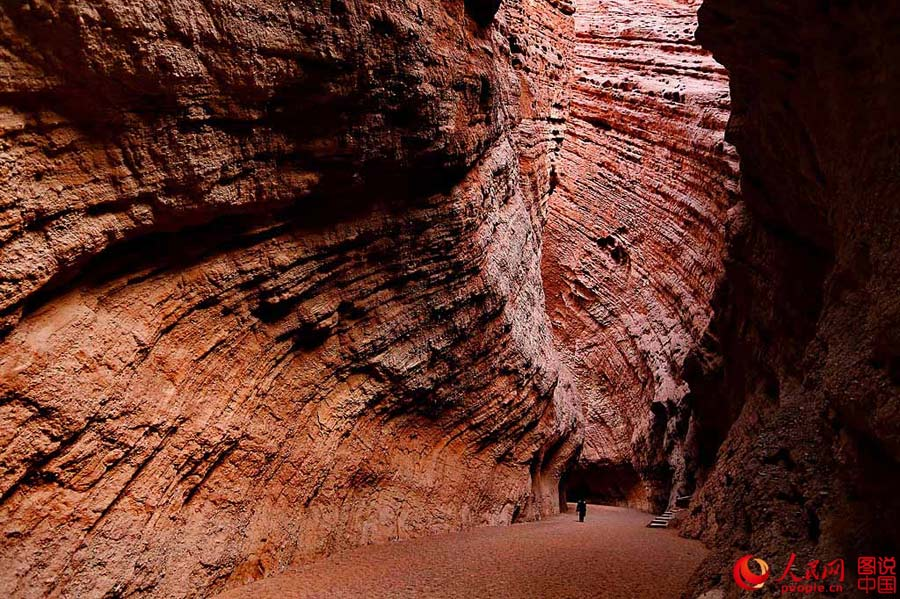 Magnificent Tianshan Grand Canyon