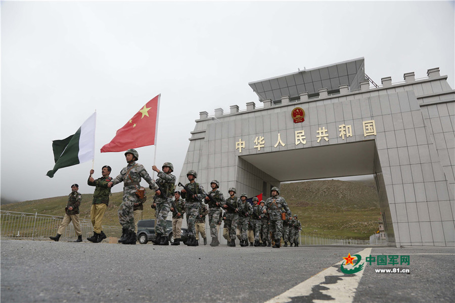 Joint patrol along China-Pakistan border