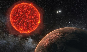 Earth-like planet raises hopes for life outside system