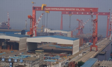 China progressing over homemade aircraft carrier