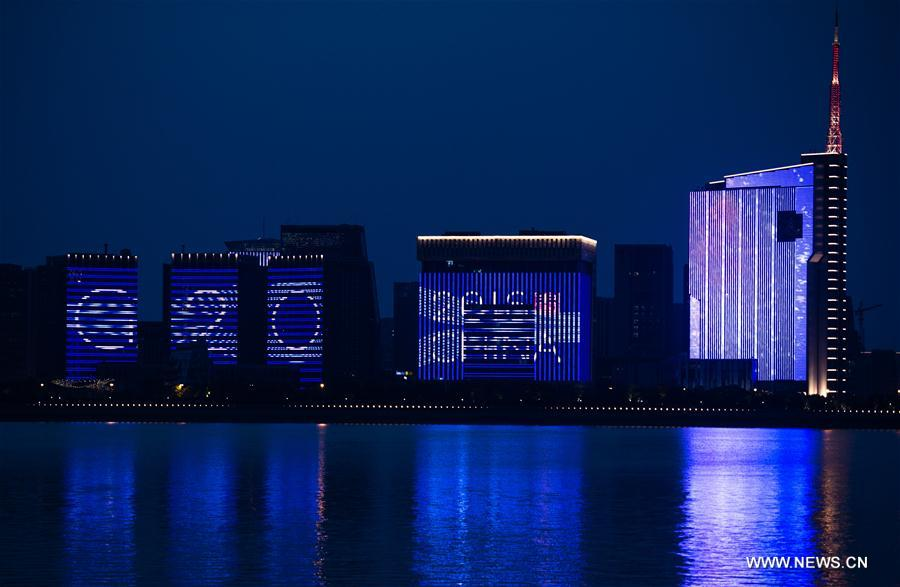 Commentary expectations running high on g20s blueprint of 31 2016 shows a led light show along the qiantang river in hangzhou capital city of east chinas zhejiang province the g20 summit will be held in malvernweather Images