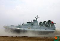 New hovercrafts debut in landing exercise
