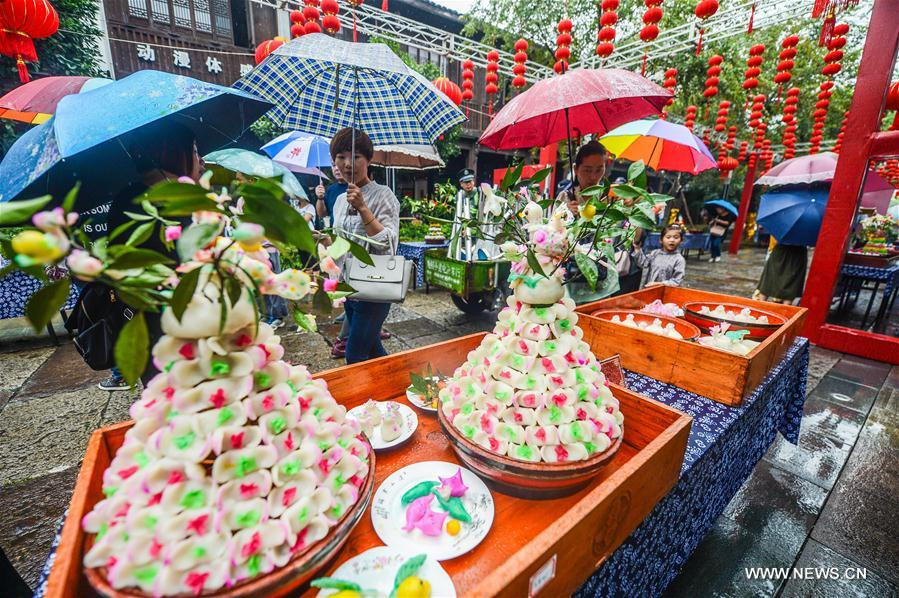 Mid-Autumn Festival celebrated around China
