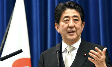 Abe neglects to mention 'friendly' Sino-Japanese relations in latest speech