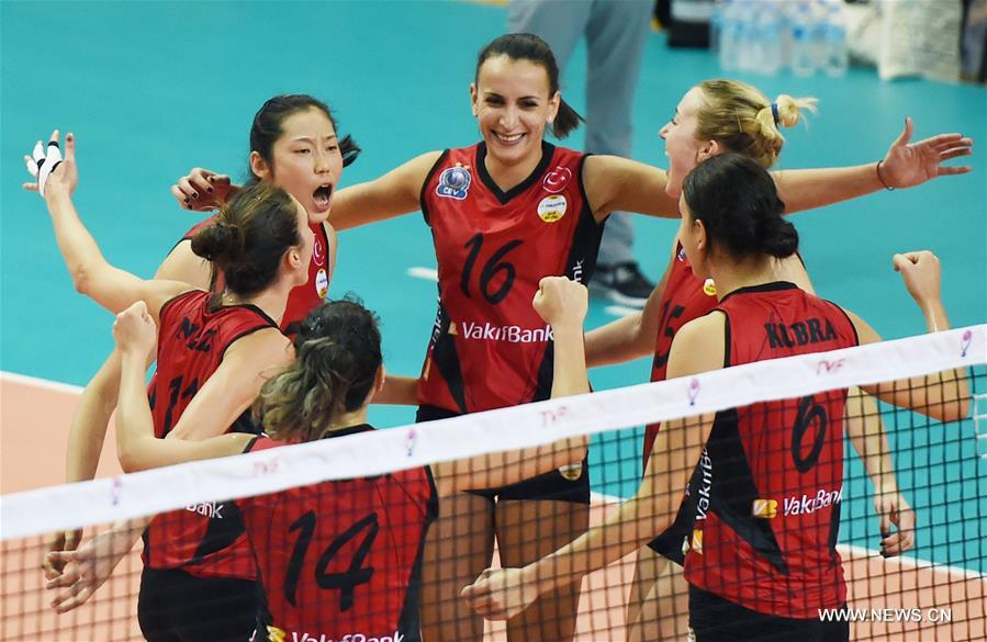 Olympic MVP Zhu leads Turkish volleyball club Vakifbank to opening victory